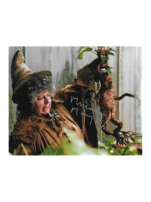 10x8 Harry Potter Print Signed by Miriam Margolyes
