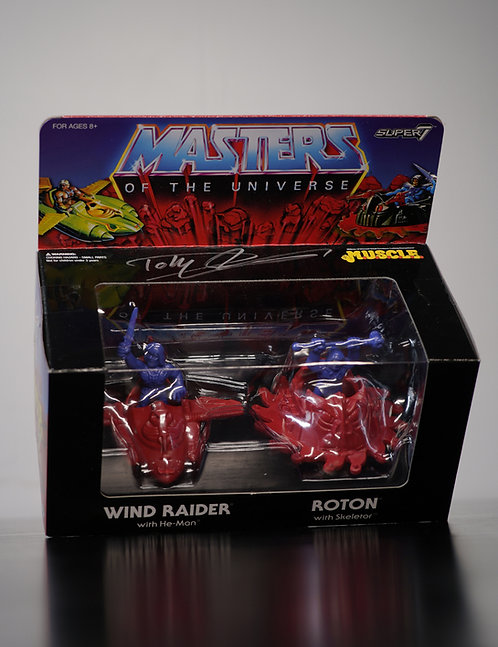 Super7 He-Man Vehicles Signed By Dolph Lundgren