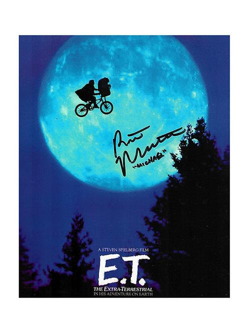 8x10 E.T. Poster Print Signed By Robert MacNaughton