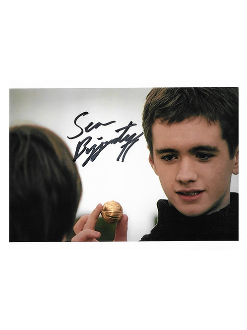 10x8 Harry Potter Print Signed by Sean Biggerstaff