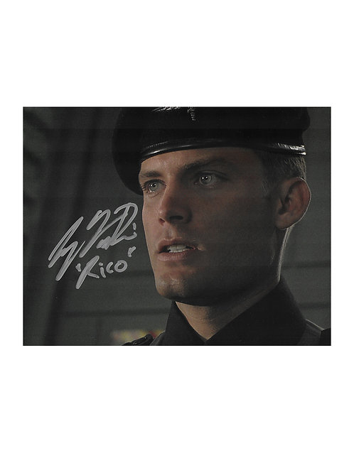 10x8 Starship Troopers Print Signed by Casper Van Dien