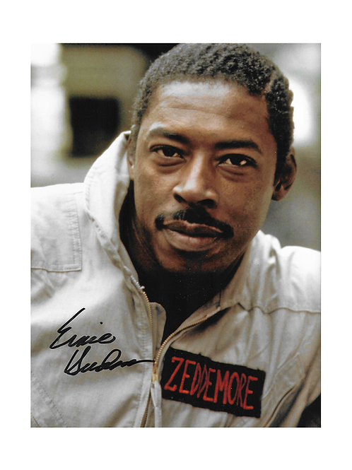 8x10 Ghostbusters Print Signed by Ernie Hudson