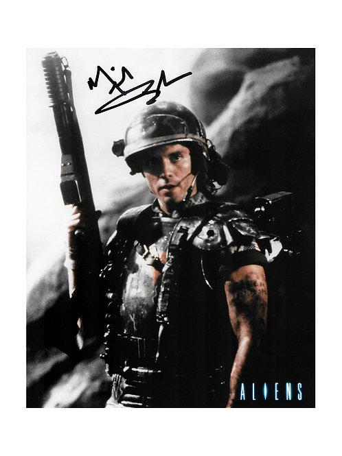 8x10 Aliens Print Signed by Michael Biehn