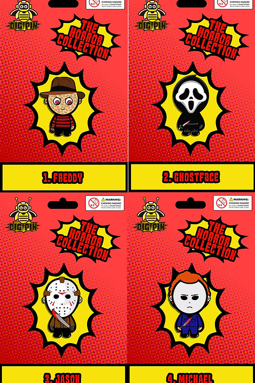 Complete Horror Collection Pack #1-4 Freddy, Ghostface, Jason and Michael