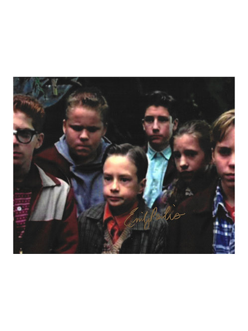 10x8 IT - The Mini-Series Print Signed by Emily Perkins