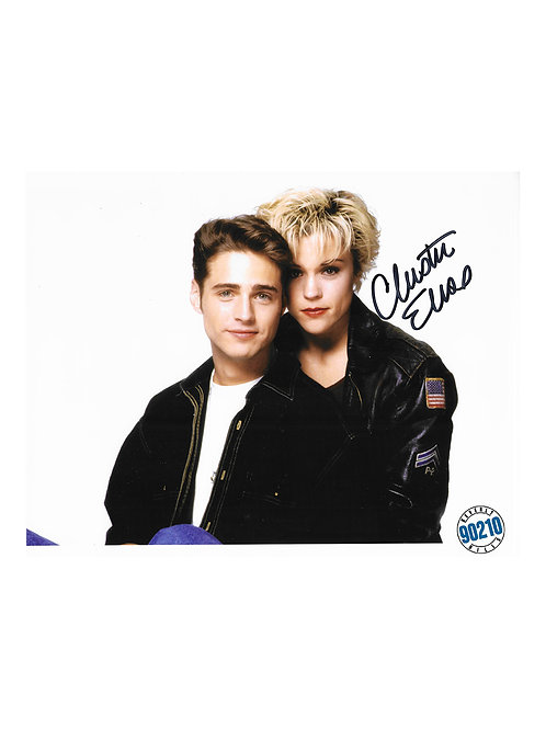 10x8 Beverly Hills 90210 Print Signed by Christine Elise