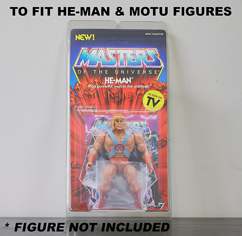 Protective Cases For MOC Masters Of The Universe Figures - Various Pack Sizes