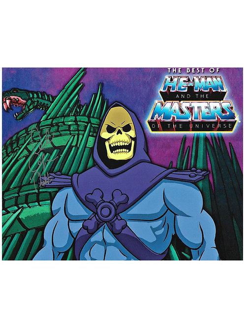 10x8 He-Man Skeletor Print Signed by Alan Oppenheimer