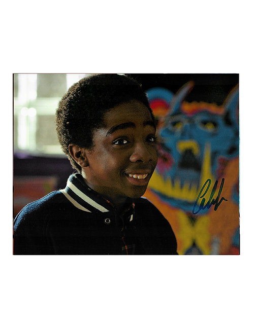 10x8 Stranger Things Print Signed by Caleb McLaughlin