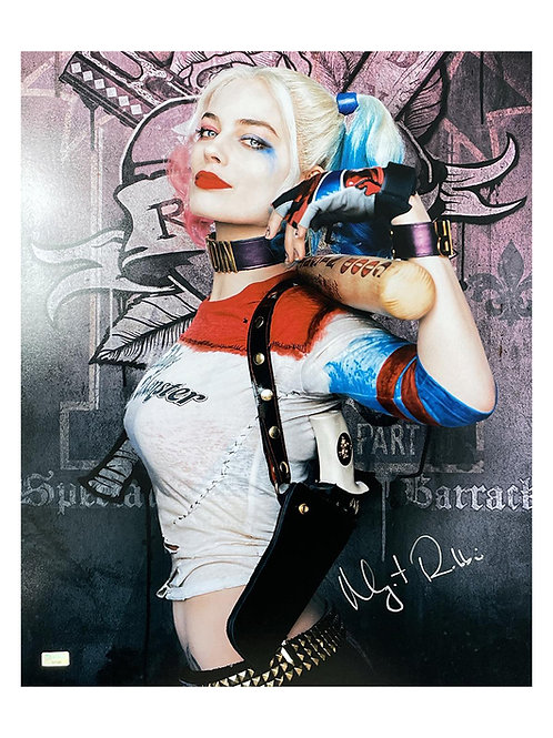 16x20 Suicide Squad Harley Quinn Print Signed by Margot Robbie