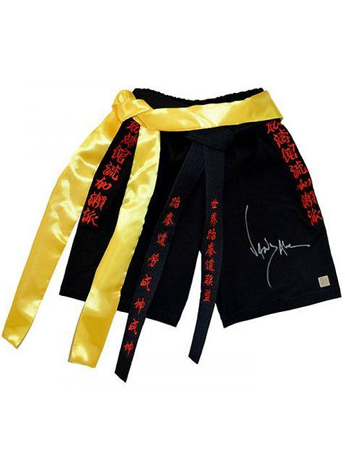 MMA Shorts Signed By JCVD Jean-Claude Van Damme