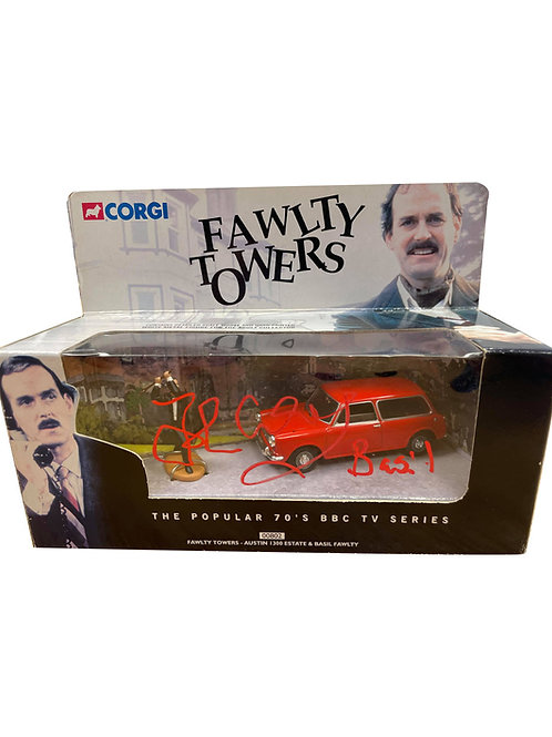 Fawlty Towers Corgi Van Signed by John Cleese