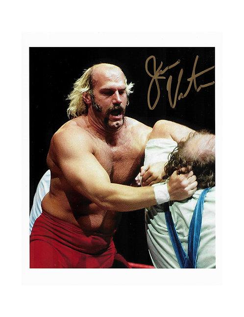 8x10 Print Signed by Wrestling Superstar Jesse Ventura