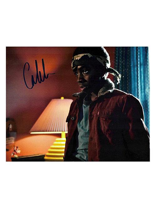 10x8 Stranger Things Print Signed by Caleb McLaughlin