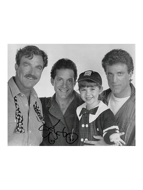 10x8 Three Men & A Little Lady Print Signed by Steve Guttenberg