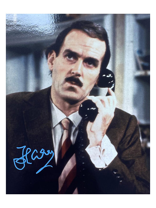 8x10 Fawlty Towers Print Signed by John Cleese