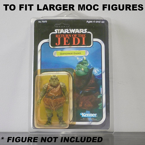 Larger Protective Cases For Star Wars etc MOC Figures - Various Pack Sizes