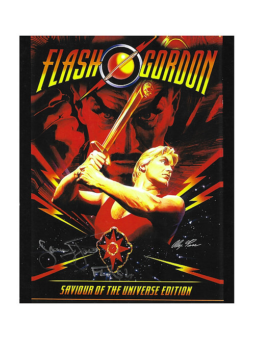 8x10 Flash Gordon Print Signed by Sam J Jones