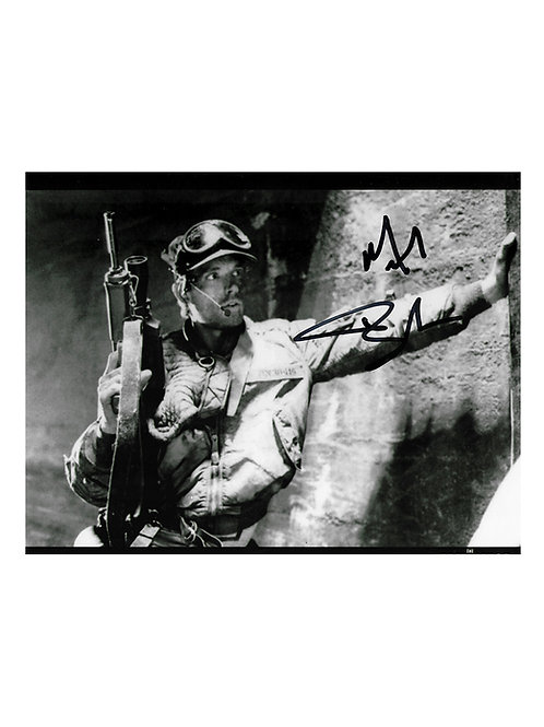 10x8 The Terminator Print Signed by Michael Biehn