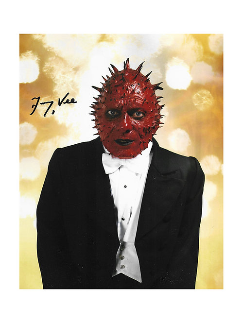 8x10 Doctor Who Print Signed by Jimmy Vee