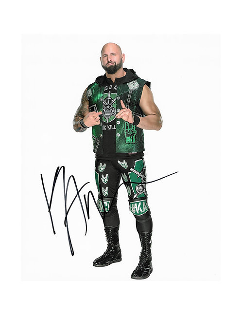 8x10 Print Signed by Wrestling Superstar Karl Anderson