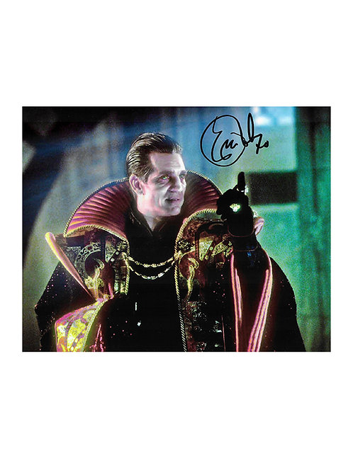 10x8 Doctor Who: The Movie Print Signed by Eric Roberts
