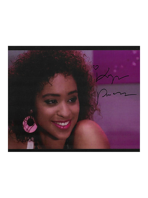 10x8 Death Spa Print Signed by Karyn Parsons