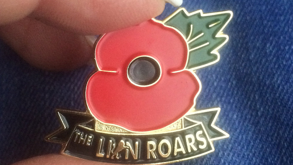 TLR Poppy Badge