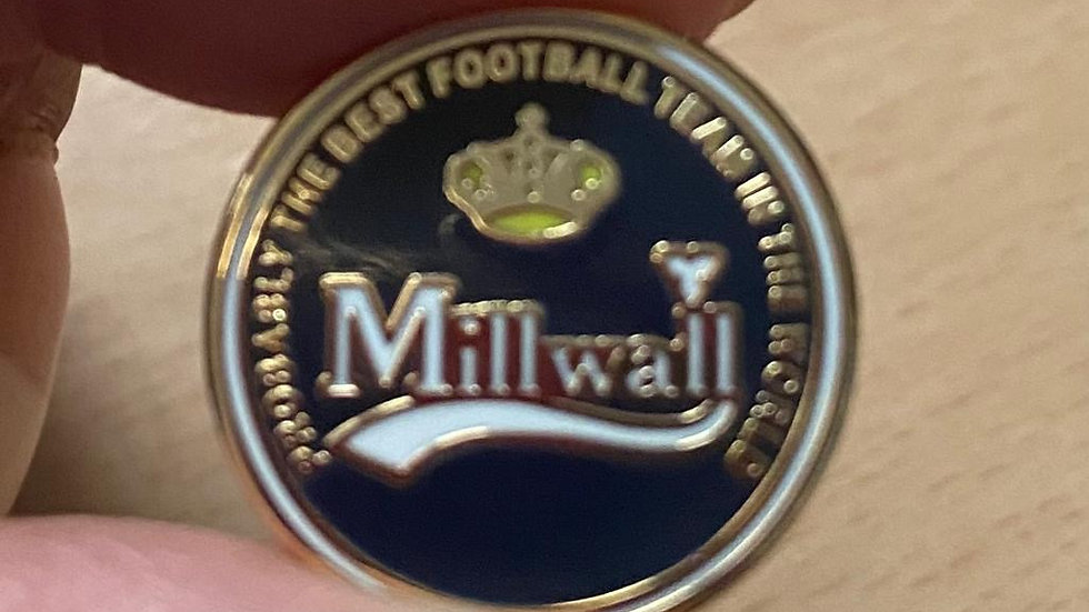 Millwall Carlsberg style badge
