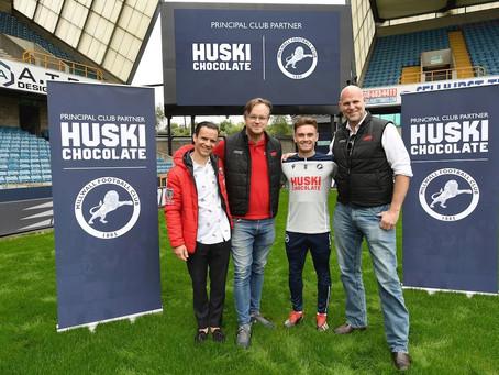 Millwall Partner With Huski Chocolate