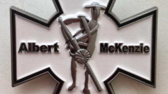 Albert McKenzie V.C Memorial Badge