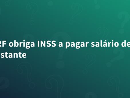 TRF obriga INSS a pagar salário de gestante