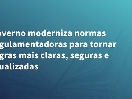 Governo moderniza normas regulamentadoras para tornar regras mais claras, seguras e atualizadas