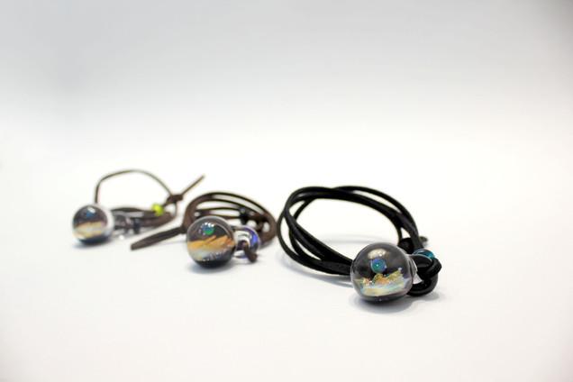 骨灰玻璃紀念品—頸鏈