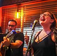 Singing at Jimmy Max