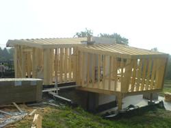 Nouvelle construction ossature bois