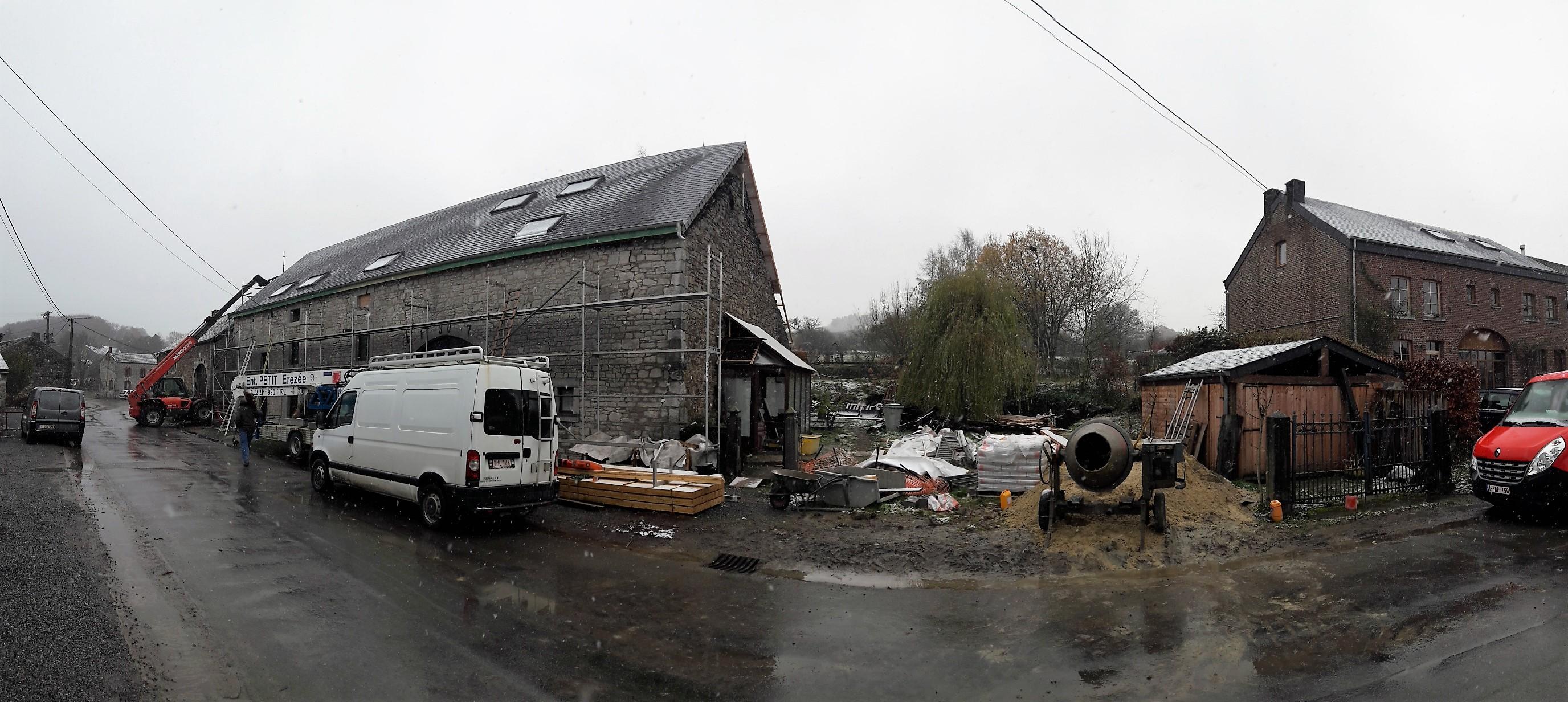 Transformation Maison du XIX Durbuy