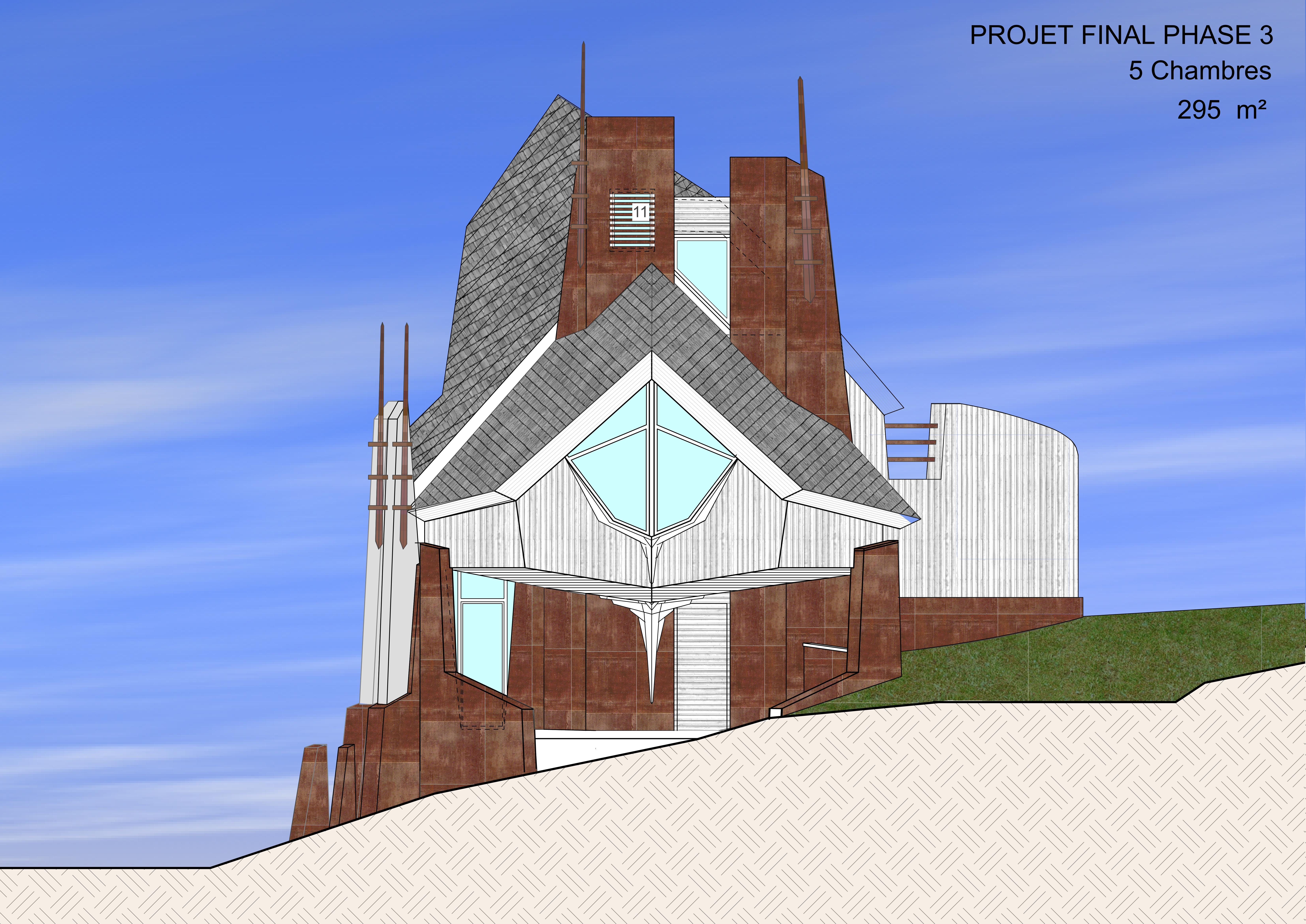 Maison en Paille Phase 3 _ 295 m²