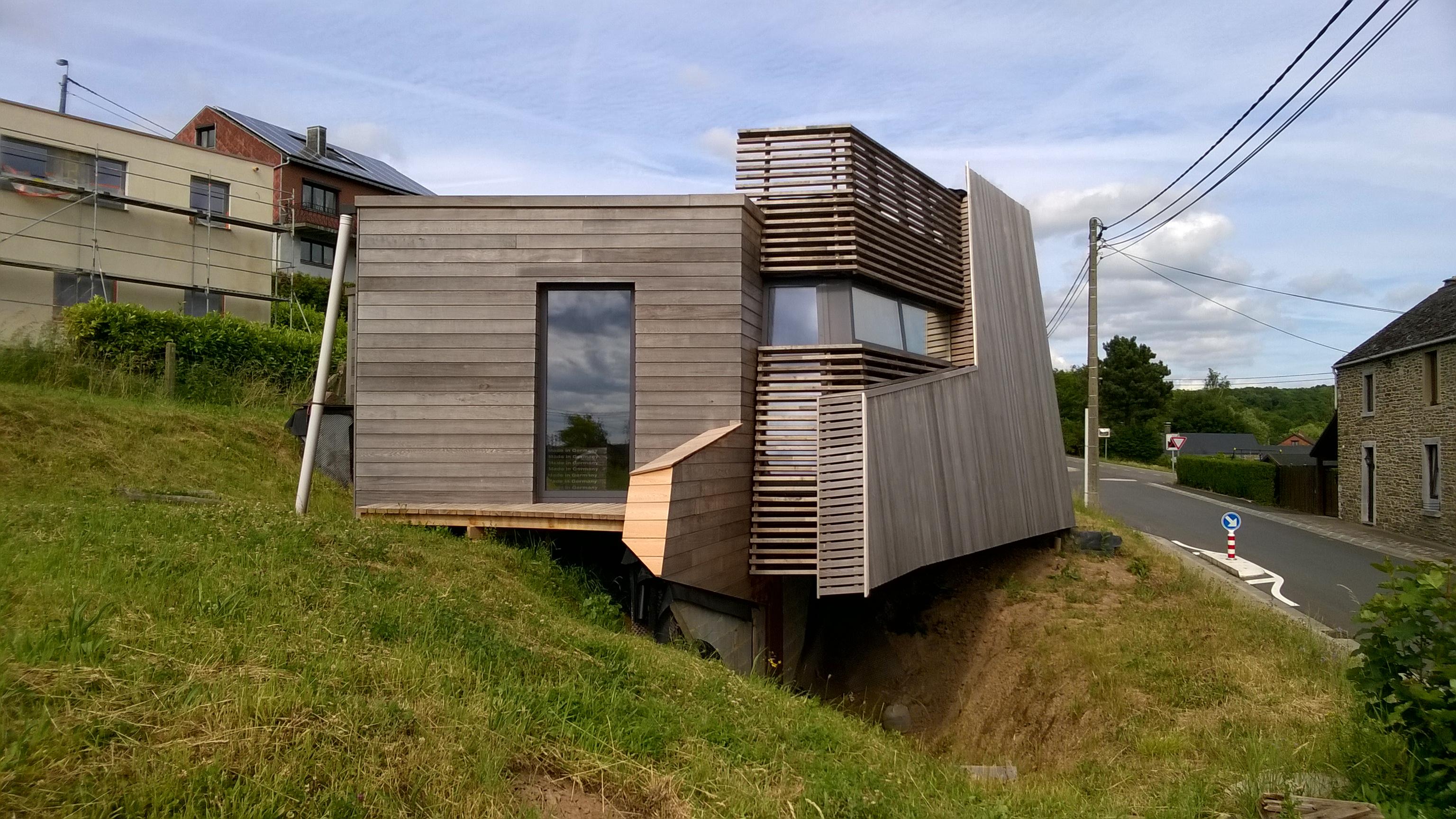 Maison en Paille Phase 1 _ 100 m²