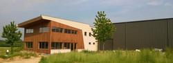 hangar industrielle en bois