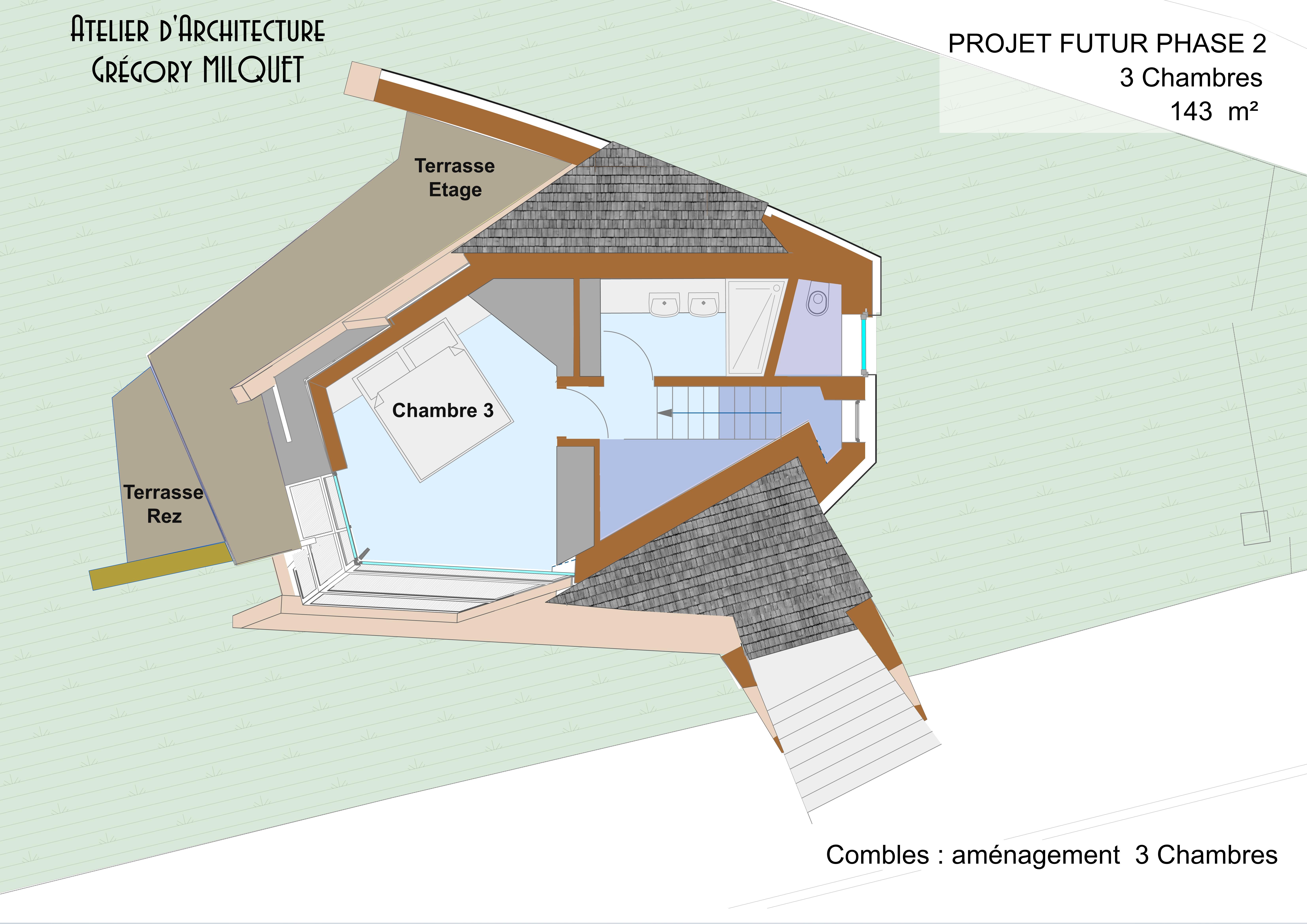 Maison en Paille Phase 2 _143 m²