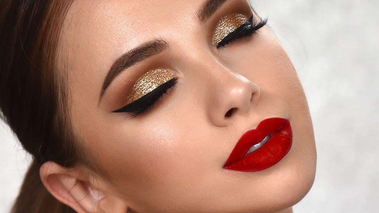 Full Glam Makeup Application