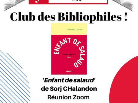 Book Club - Free - 23rd November, 2.30pm