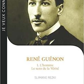"""Our next talk :""""René Guénon, auteur et intellectuel"""" par Samuel Lordemus."""