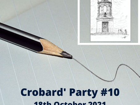 Crobard'Party #10 Pencil Drawing workshop
