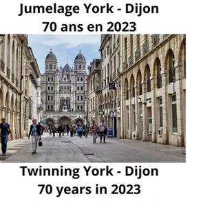York - Dijon twinning