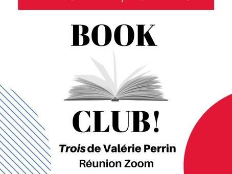 Book Club - Free - 10th August, 2pm