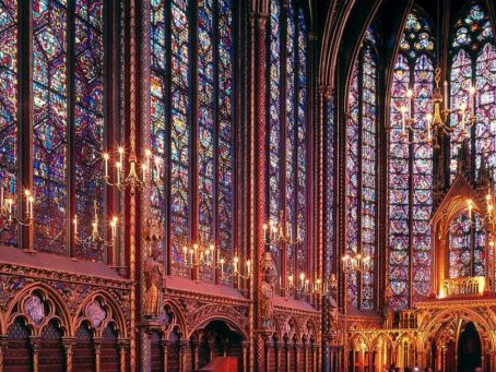 Virtual tour of the Sainte Chapelle in Paris - 12th May 2021, 6pm