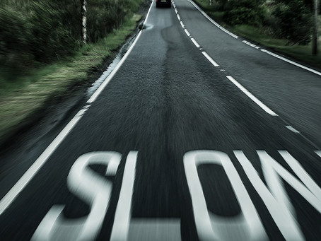 Practice confidence by slowing down