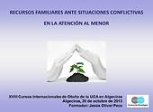 Recursos familiares ante situaciones conflictivas, PSIQUE & LOGOS, Jesús Oliver Pece